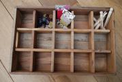 casier de rangement bois papier recycl boutique. Black Bedroom Furniture Sets. Home Design Ideas